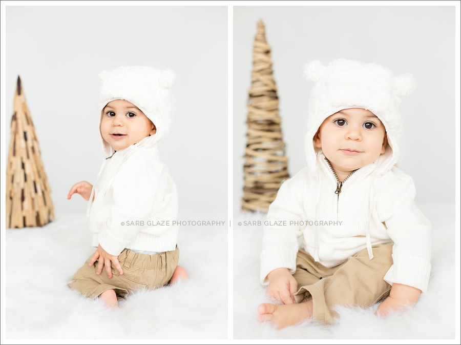 Cole Holiday Christmas Mini Session Vancouver Children's Baby Photography Natural Light Studio_0002
