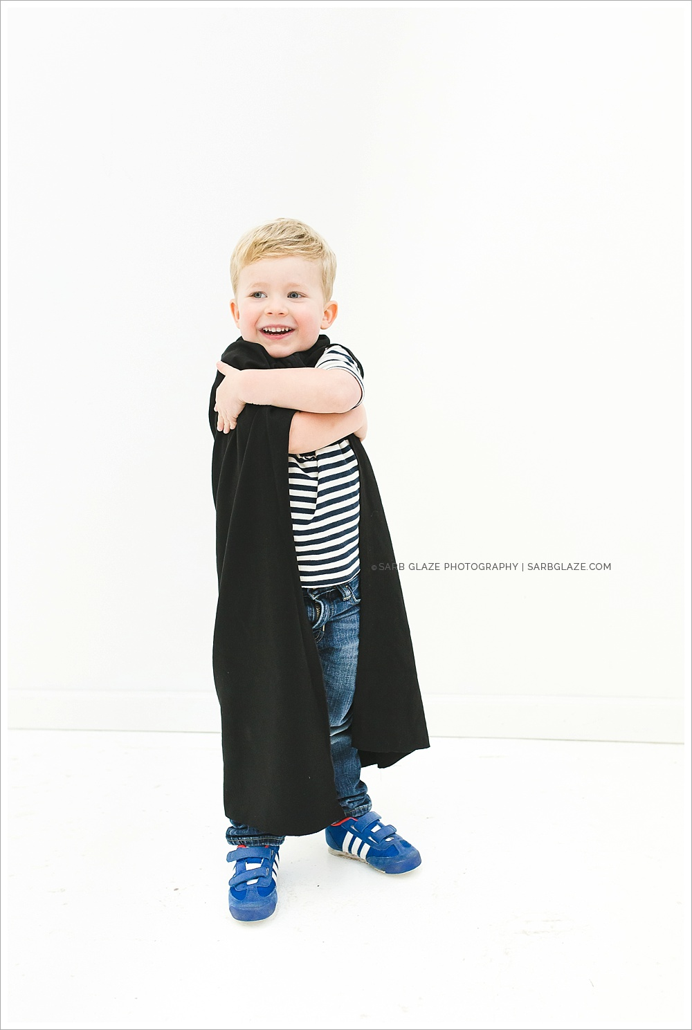 Love + Super Heroes | Vancouver Children's Studio Portrait Photographer