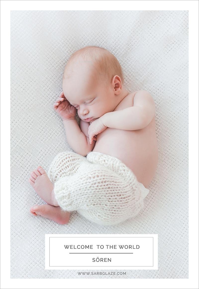 Baby Sören | Vancouver Newborn Photographer