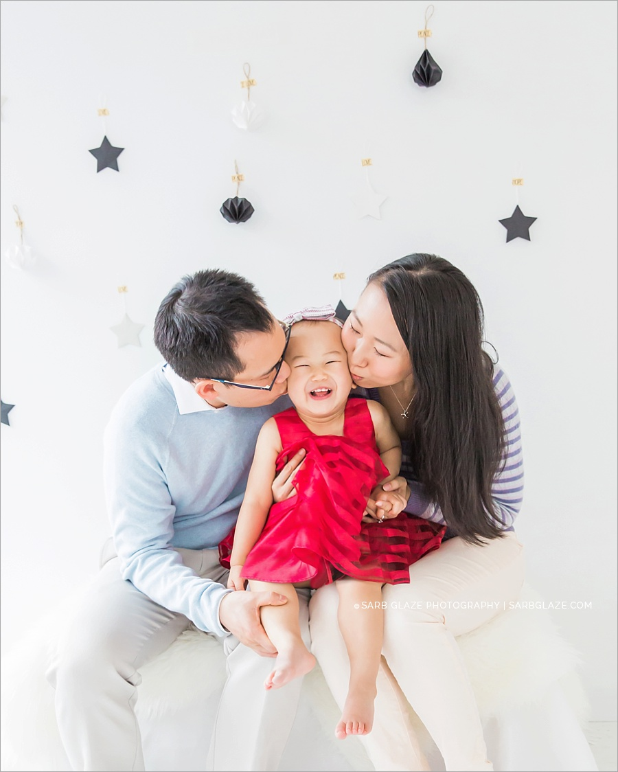 Holiday Family Portrait | Vancouver Natural Light Photographer